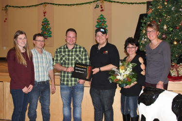 Congratulations to Skycrest Holsteins 2017 CRHC breeder of the year